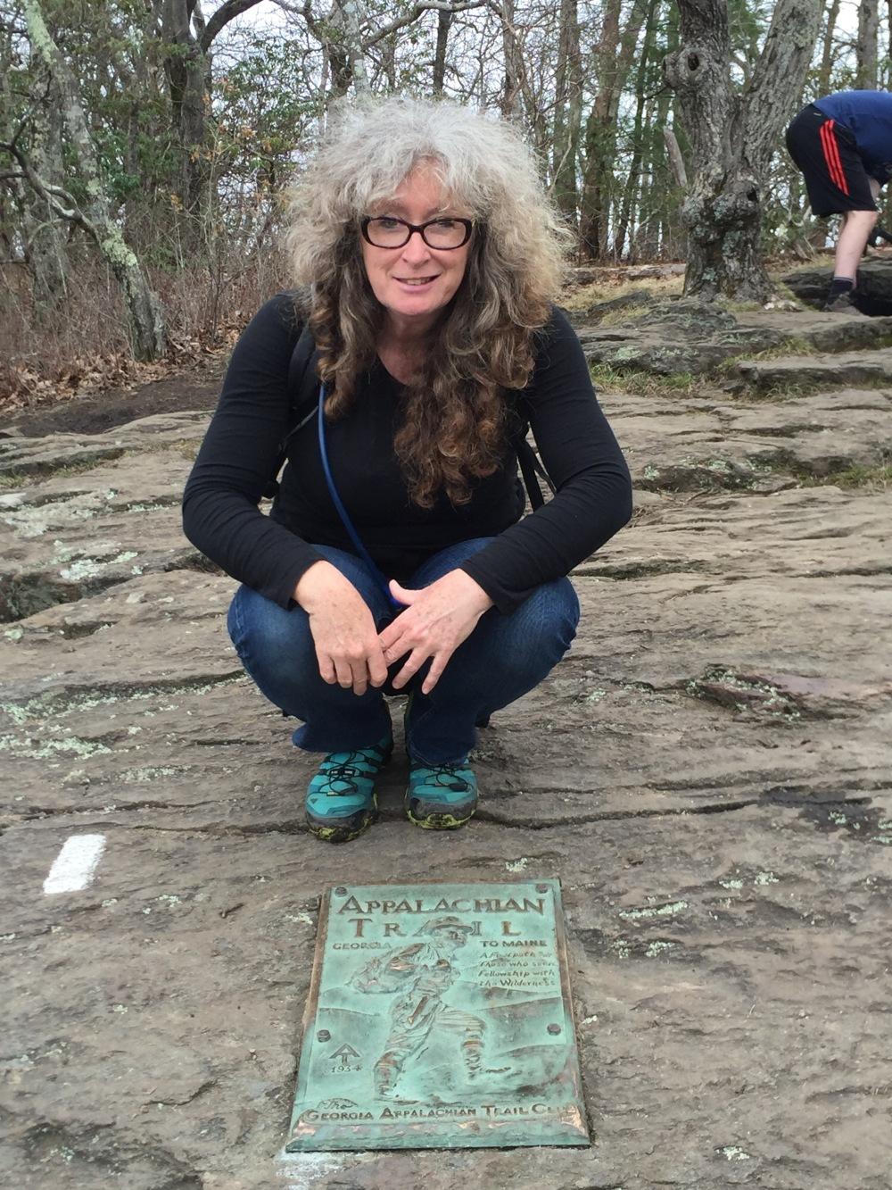 Mandy at AT plaque